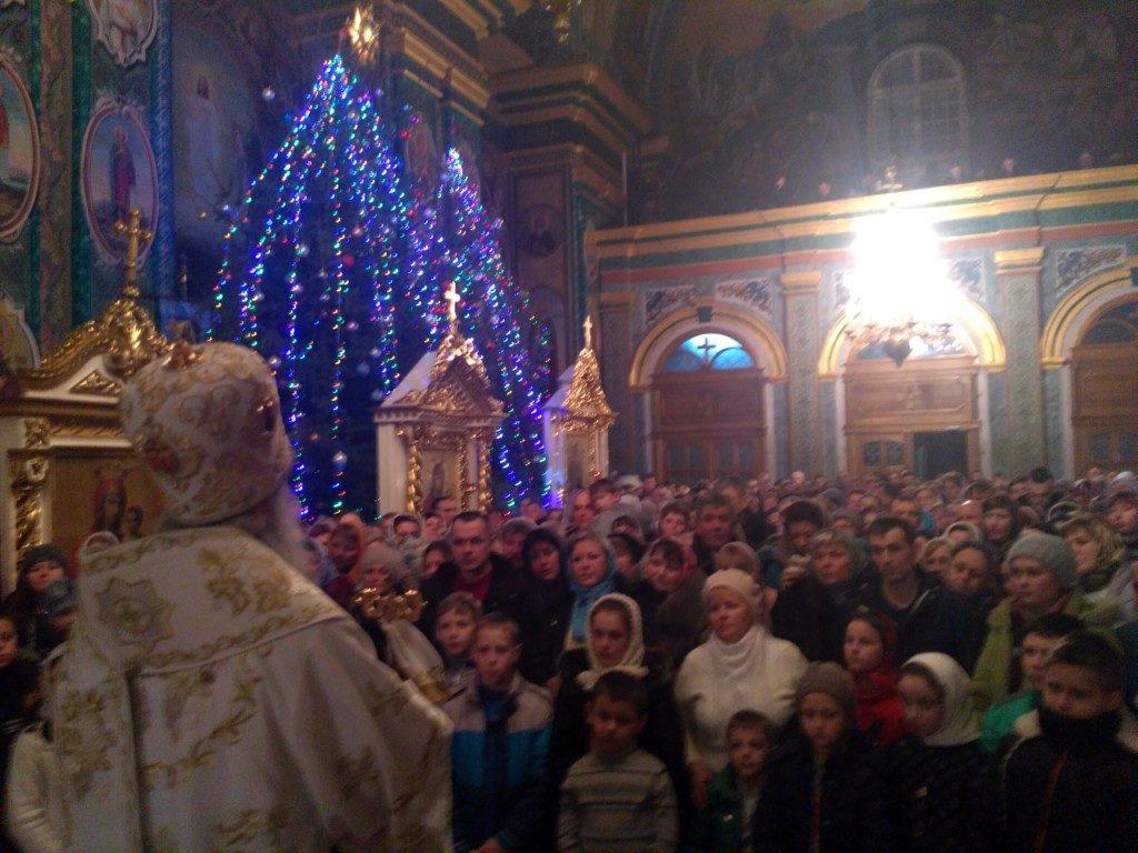 Заключний вечір колядок у Кременецькому монастирі.