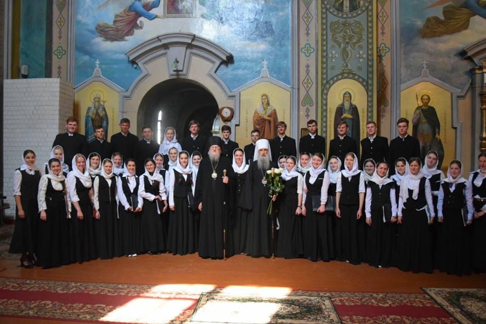 У день Вознесіння Господнього в місті Кременець вітали студентів ювілейного випуску духовної школи