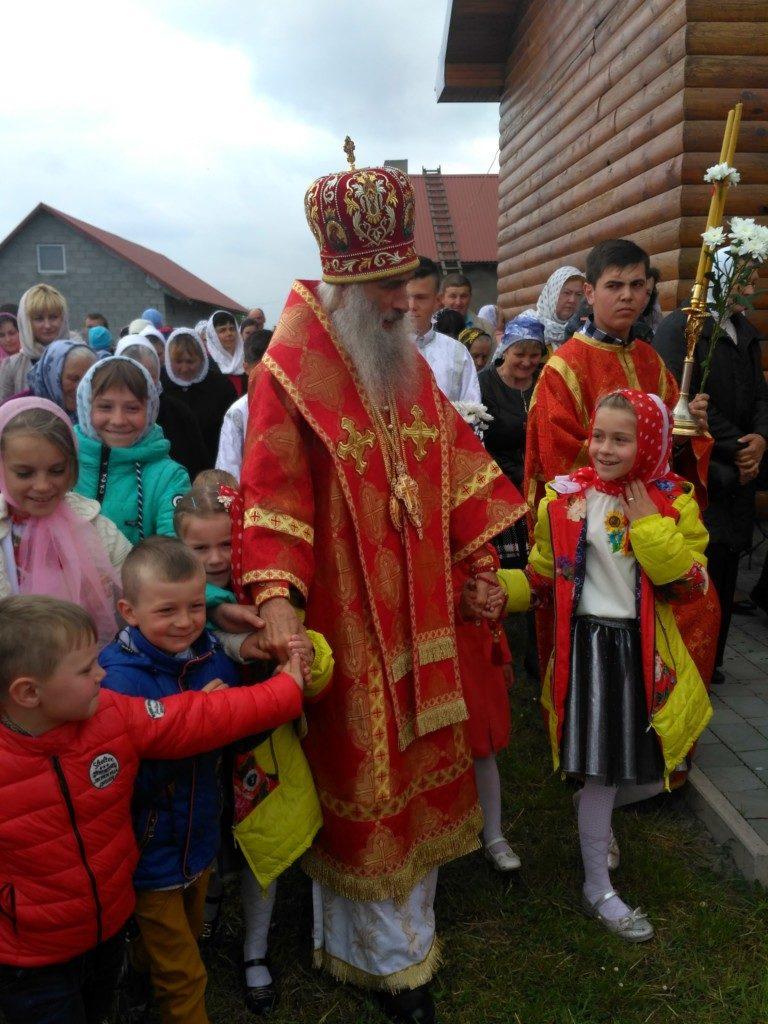 Престольне свято у храмі на честь святих князів Бориса та Гліба с.Савчиці.