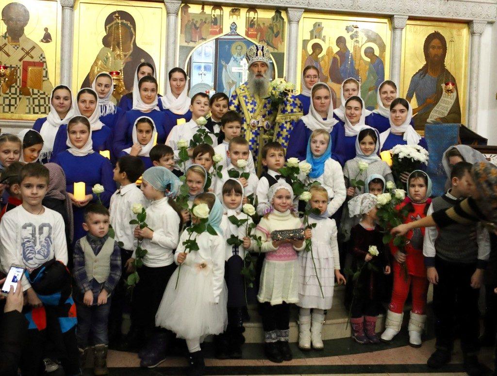 Митрополит Тернопільський та Кременецький Сергій звершив Літургію на честь свята Введення у храм Пресвятої Богородиці у день свого народження