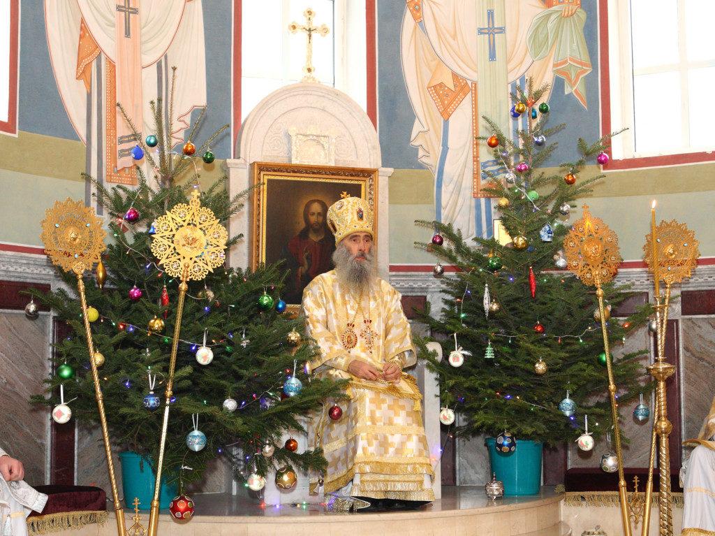 Різдвяне послання Високопреосвященнійшого Сергія, митрополита Тернопільского і Кременецького.