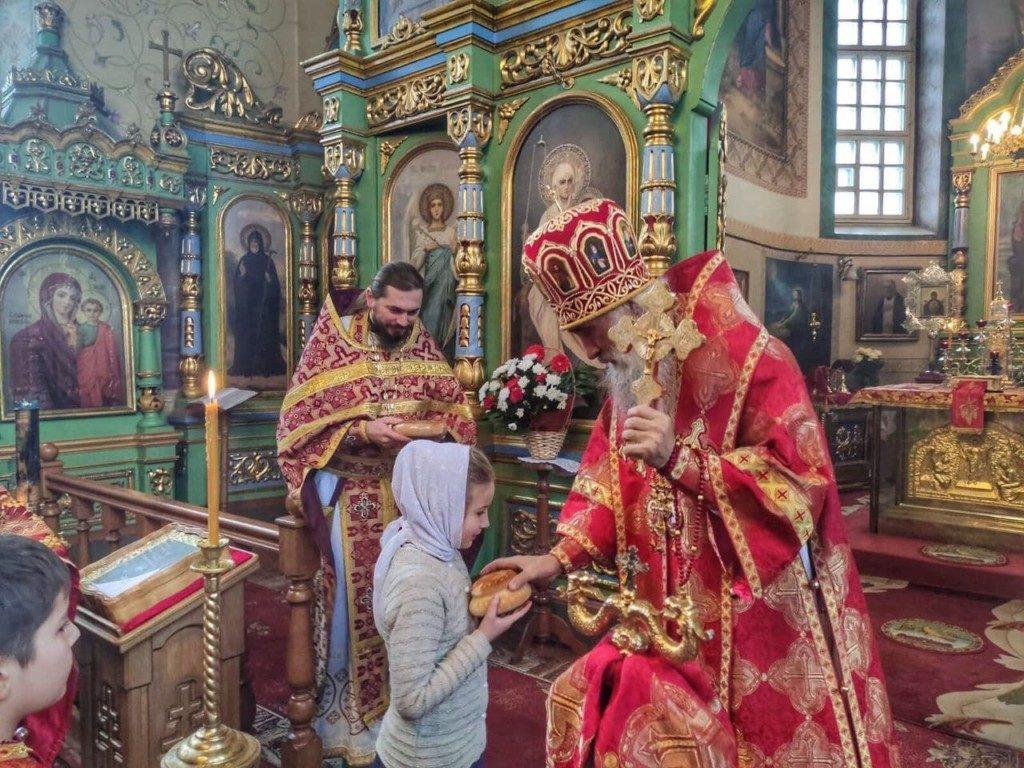 На Туниках, у передмісті Кременця, відбулося архієрейське Богослужіння у день пам'яті св. вмц. Варвари